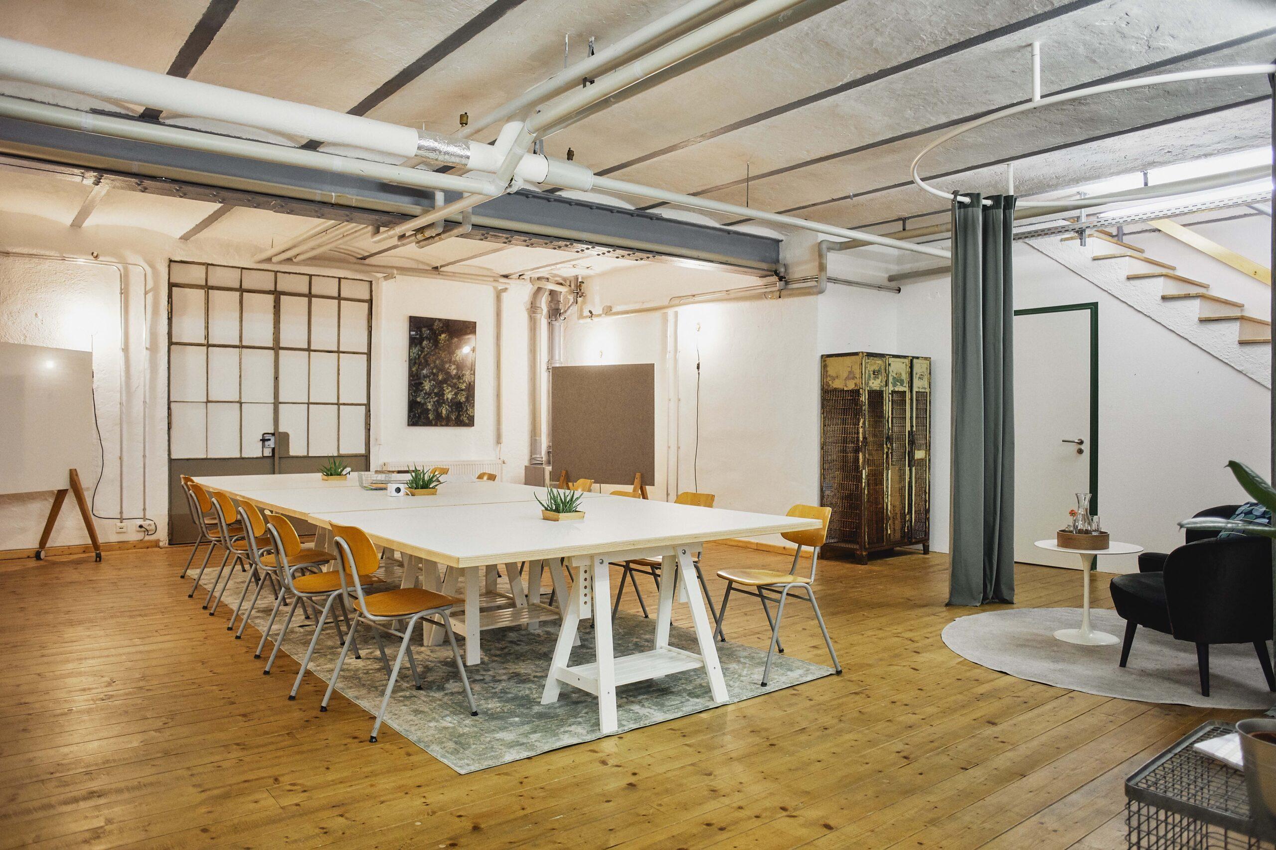 Meetingraum Kreativwerkstatt