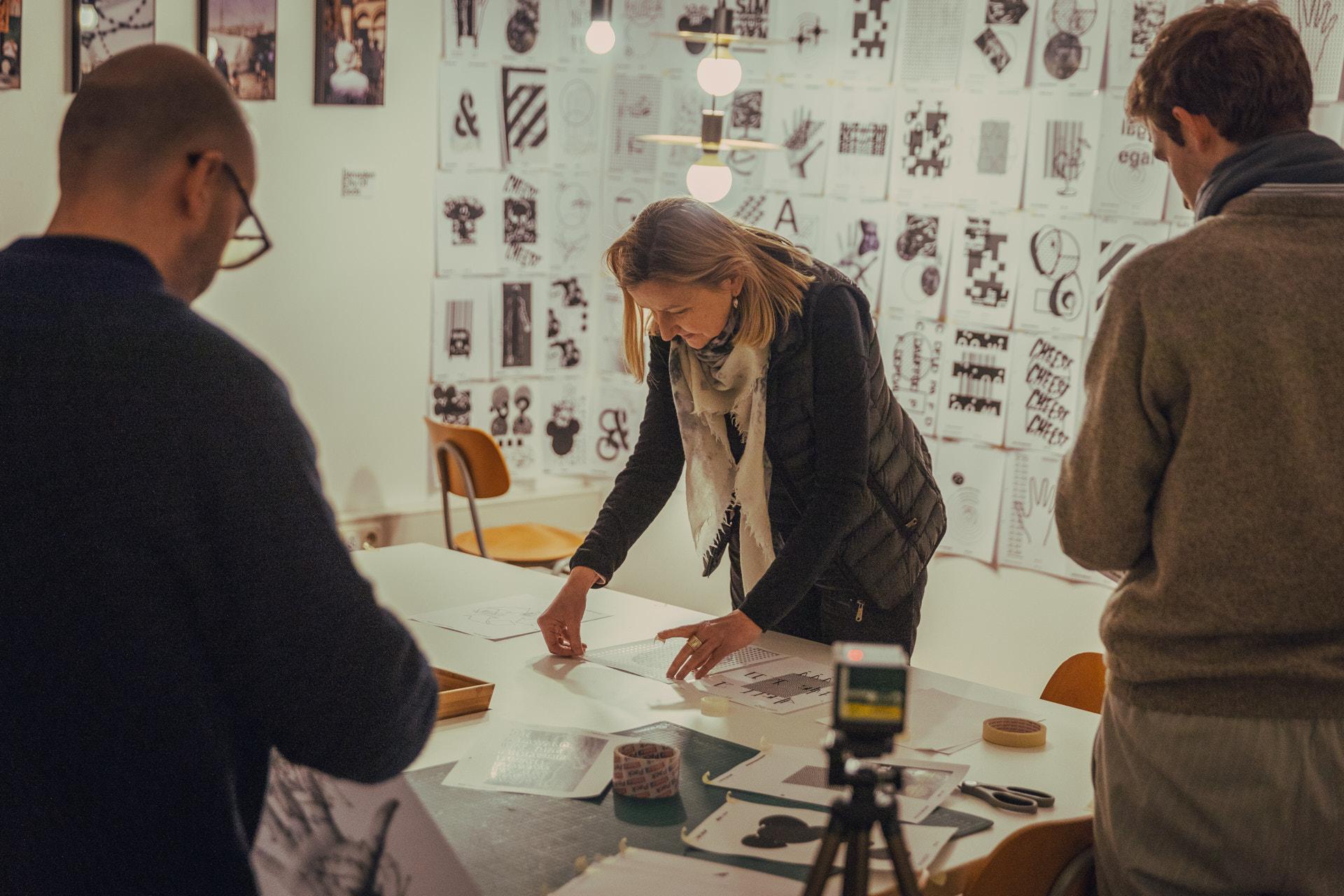 Eindrücke des Workshops mit Patrick Thomas in der Kreativwerkstatt München