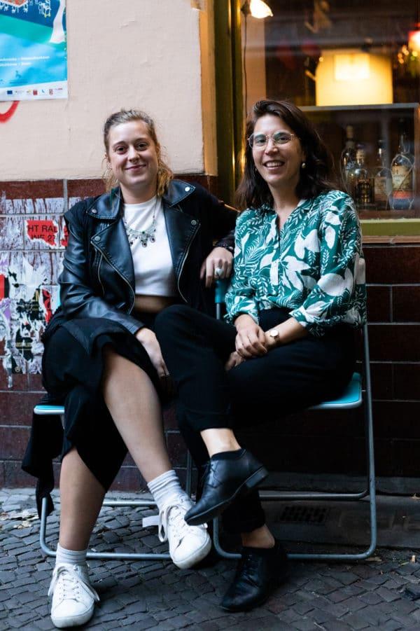 Lou & Jessie from TDK Berlin (c) Adam O'Sullivan
